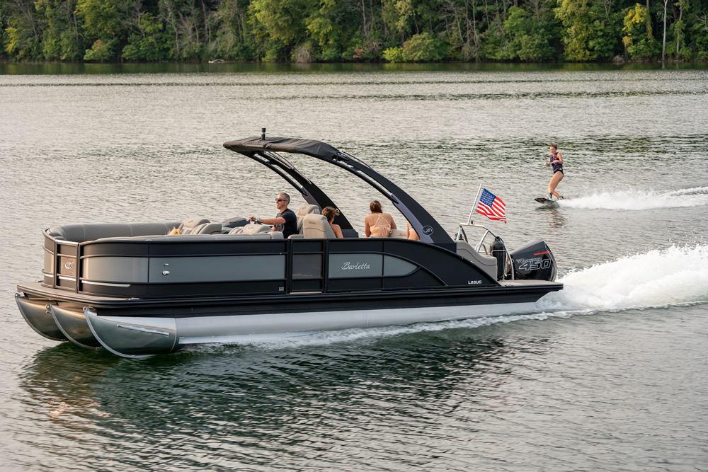 Barletta pontoon boat L25UCA