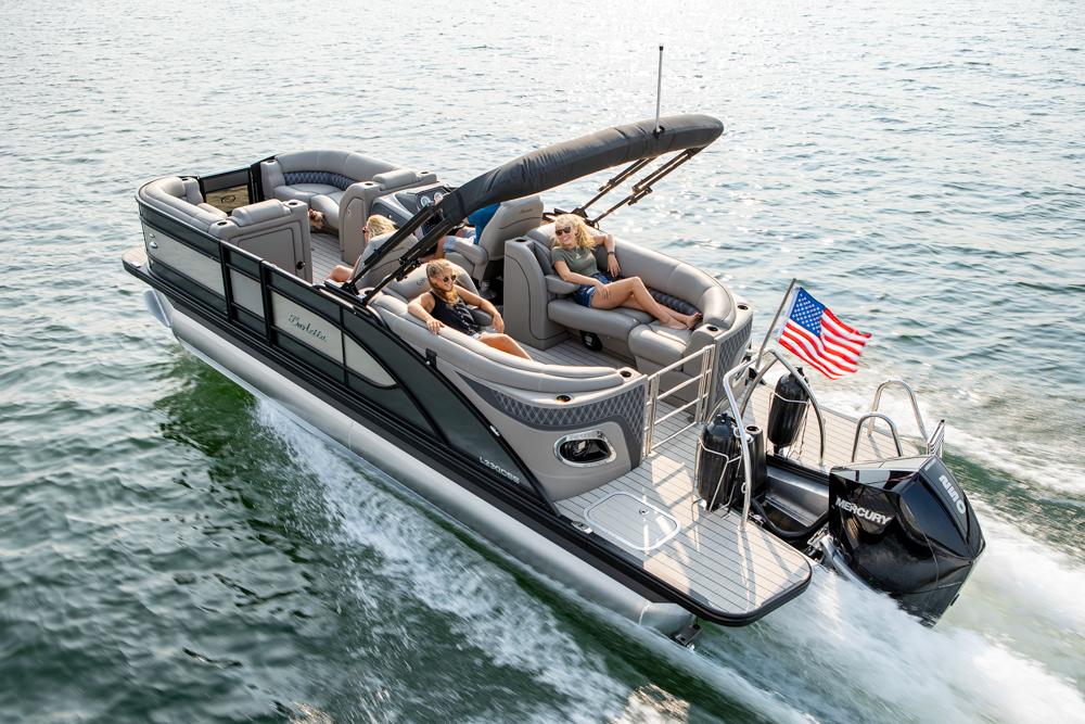 Barletta pontoon boat L23QCSS