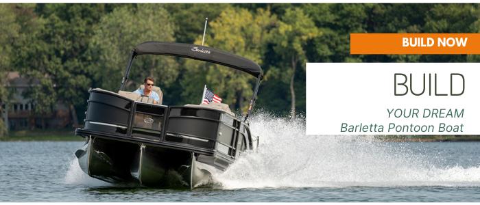 Build a Barletta pontoon boat online